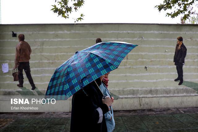 پیش بینی آغاز بارش ها در قزوین از هفته پایانی آبان