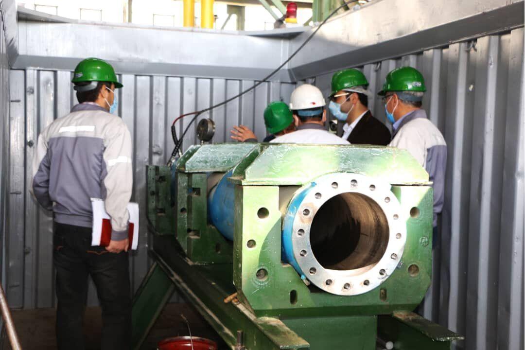دستگاه آزمون مچالگی لوله های جداری چاه های نفت و گاز ساخته شد