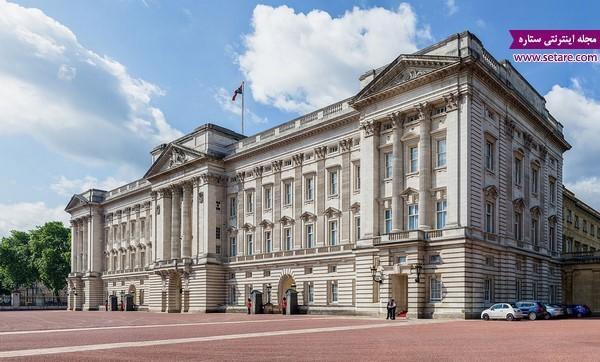 کاخ باکینگهام، محل زندگی خانواده سلطنتی انگلیس
