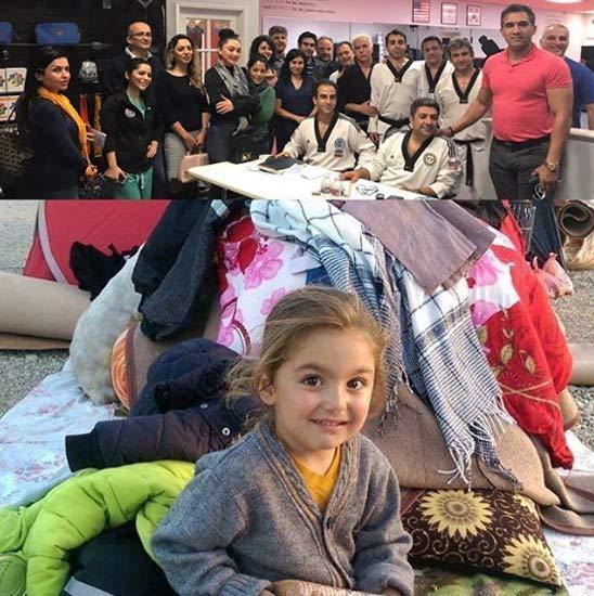 پست احمدرضا عابدزاده برای یاری به زلزله زدگان