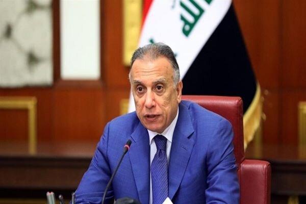 الکاظمی از بازداشت مظنونان حمله راکتی به منطقه سبز بغداد اطلاع داد