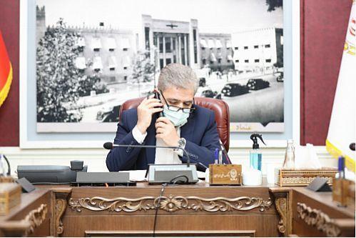 تاکید مدیرعامل بانک ملی ایران بر ارتباط مستمر مدیران با همکاران