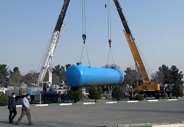رونمایی از 30 مخزن آب شرب اضطراری تهران