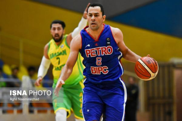 داورپناه: حالم از این بسکتبال به هم می خورد ، مهرام با کثافت کاری نفت را برد