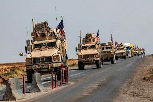 وقوع انفجار در جهت کاروان لجستیک نظامیان آمریکا در بصره
