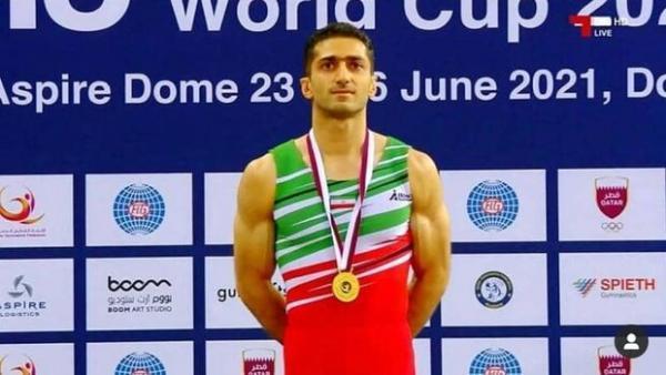 ورزشکار شیرازی قهرمان دنیا سهمیه ژیمناستیک المپیک را از دست داد