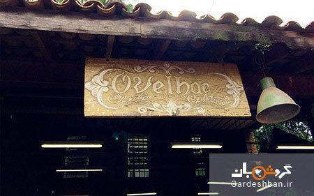 رستورانی در برزیل که از مواد بازیافتی ساخته شده است!، عکس