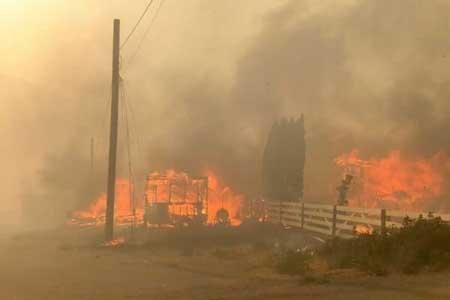 گرمای بی سابقه و آتش سوزی در غرب کانادا ، منازل مسکونی تخلیه شدند