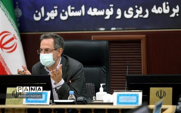 شیب ملایم کاهش بستری ها و فوتی های کرونایی در استان تهران