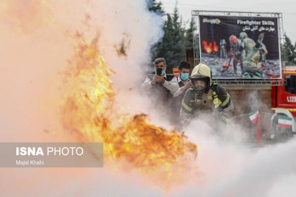 آتش نشانان یزد سریعترین های کشور می شوند، جانمایی ایستگاه های یزد مناسب نیست